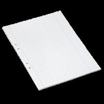 Arbetsblad A4 rutat 10x10 mm 500/fp