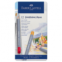 Färgpennor Faber-Castell Art Goldfaber Aqua 12/fp