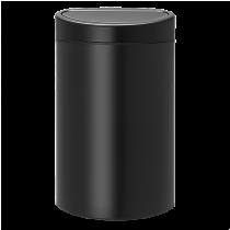 Papperstunna Touch Bin New 40L matt svart