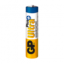 Batteri GP Ultra+ Plus Alkaline AAA/LR03 4/fp