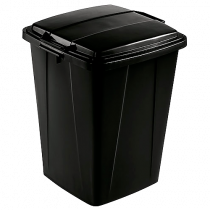 Avfallstunna Durabin 90L svart