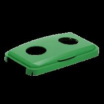 Fällbart lock för burkar Durabin 60 grönt
