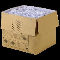 Avfallspåsar i papper Rexel Auto+ 80L 50/fp