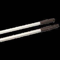 Borstskaft Aluminium 150 cm