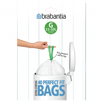 Avfallspåse SmartFix G 23-30 liter 40-pack