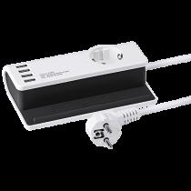 USB-laddare + schuko inkl. hållare