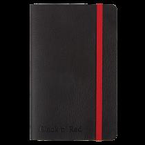 Anteckningsbok Oxford Black n' Red Soft A6