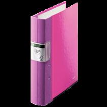 Gaffelpärm Jopa Leitz Wow 60 mm rosa