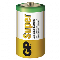 Batteri GP Super Alkaline D 2/fp