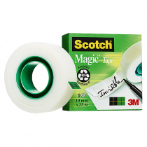 Dokumenttejp Scotch Magic 33mx19mm