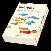 Färgat papper Rainbow A4 120 g creme 250/fp