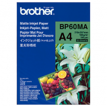 Fotopapper Brother matt A4 25/fp