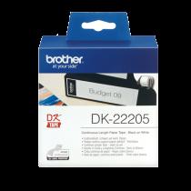 DK-etikett Brother Löpande etikett 62 mmx30,48 m