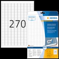Avtagbara etiketter Herma 17,8x10 mm 6750/fp