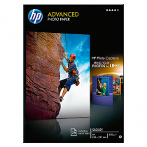 Fotopapper HP Advanced Glossy A4