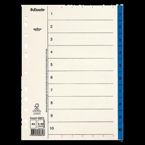 Register Servo Original 1-10 blå