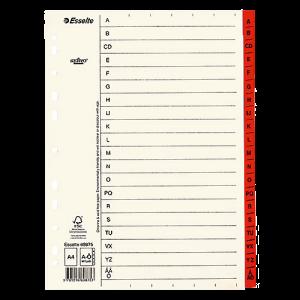 Register Servo Original A-Ö röd