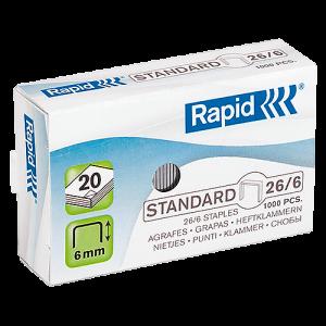 Häftklammer Rapid 26/6 1000/fp