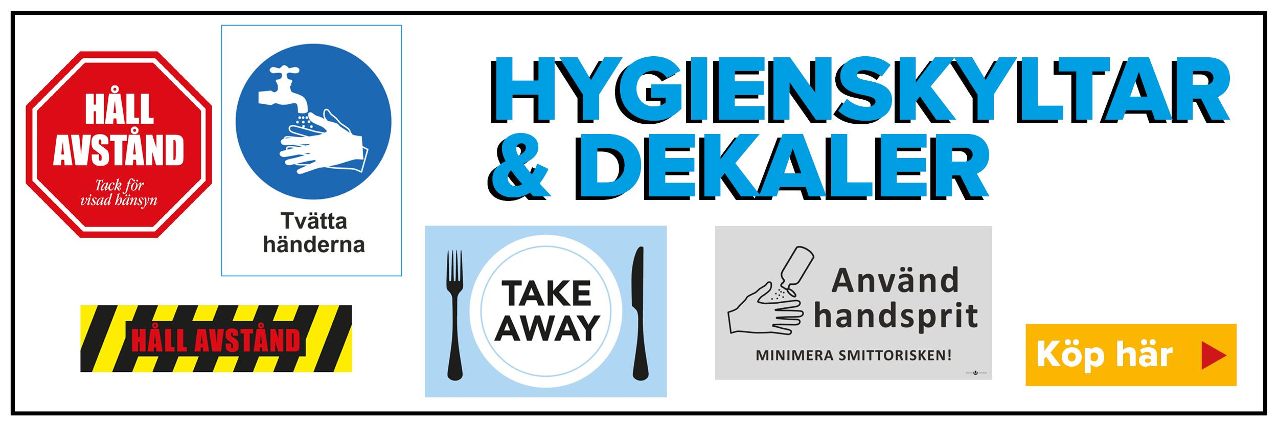 Hygienskylt